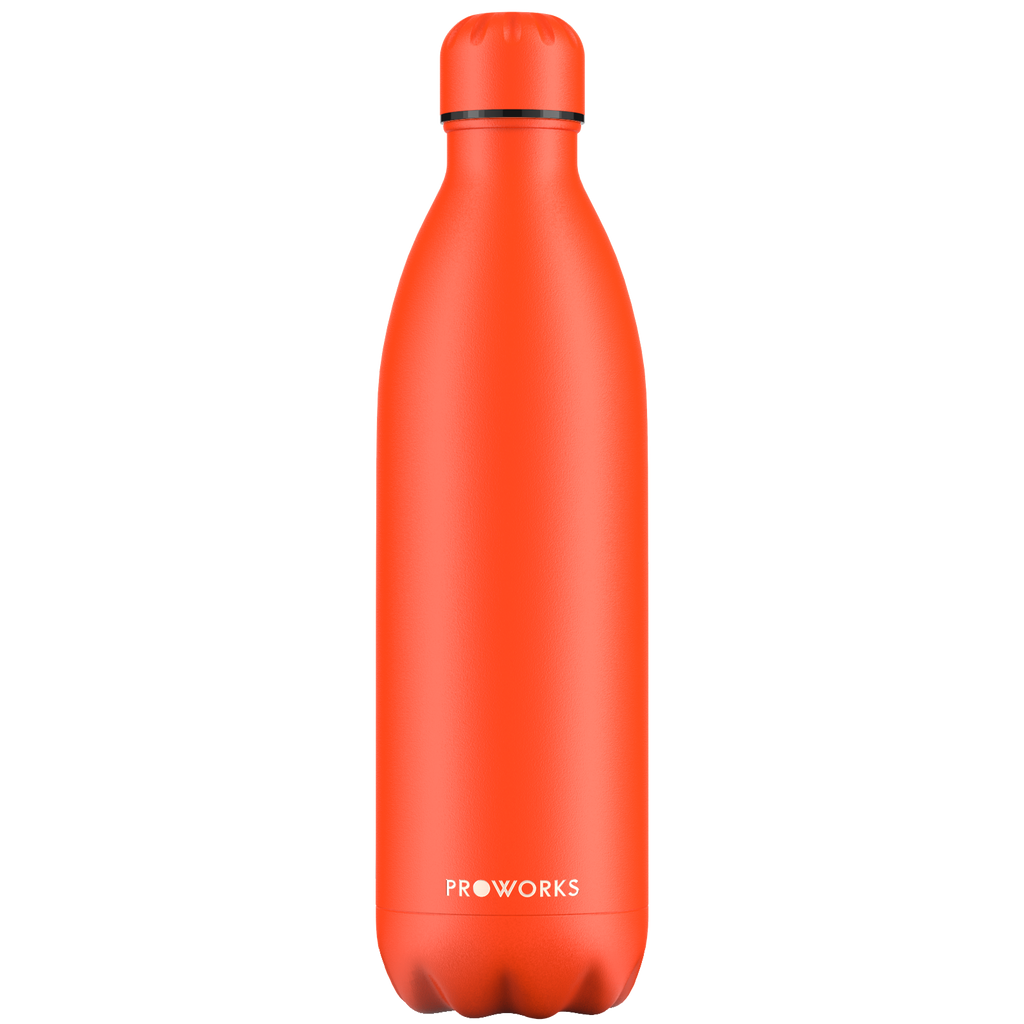 Proworks Oxy Fire Red 1L Water Bottle