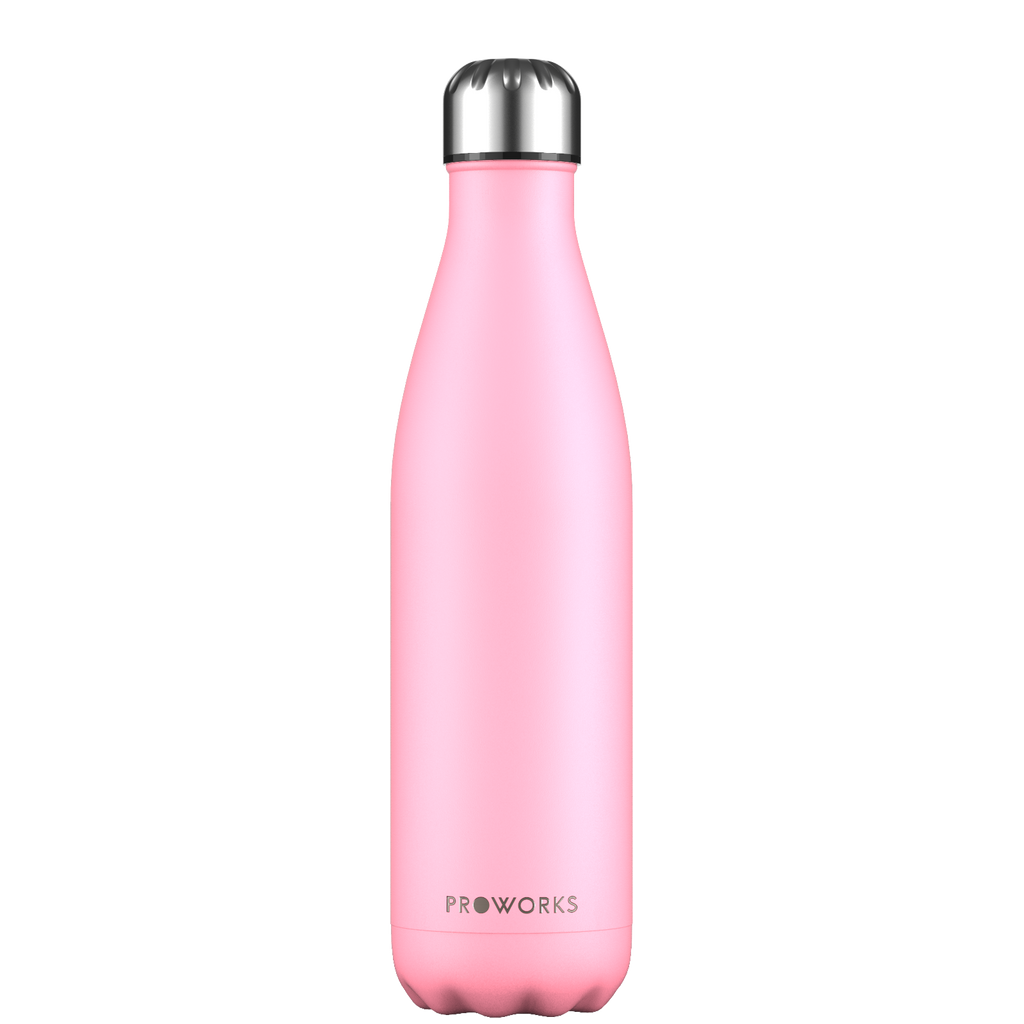 Proworks Pastel Pink 750ml Water Bottle