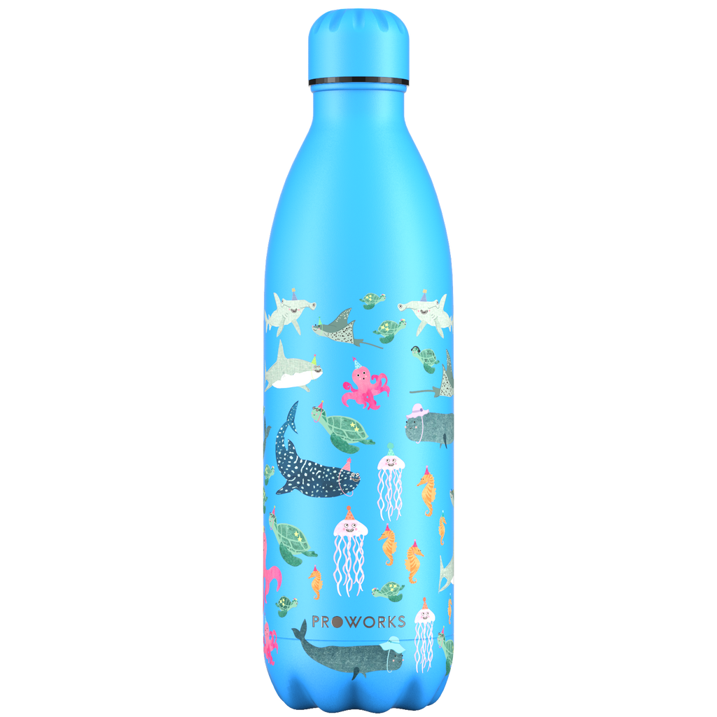Proworks Powder Blue 1L Water Bottle