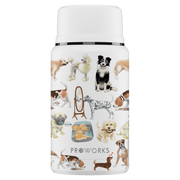 Proworks White A Dogs Tail Food Flask 750ml