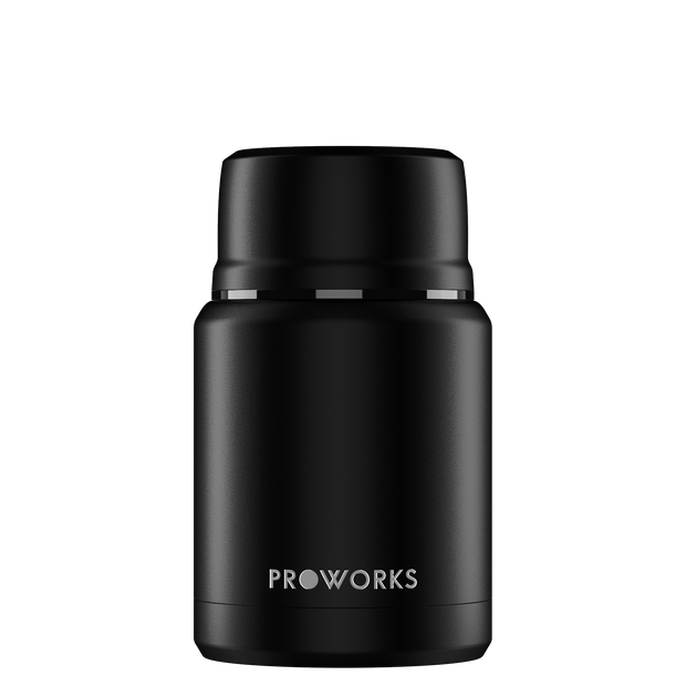 Proworks All Black Food Flask 500ml