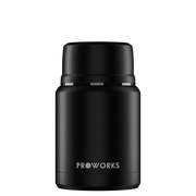 All Black Food Flask