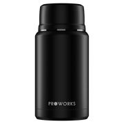 Proworks All Black Food Flask 750ml
