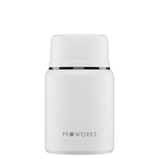 Proworks White Food Flask 500ml