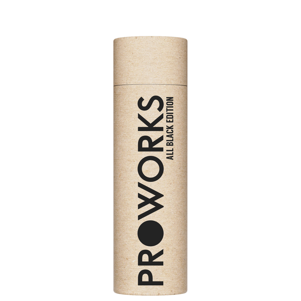 Proworks All Black 350ml Packaging