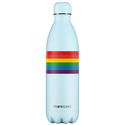 Proworks Purist Blue Rainbow Pride 1L Water Bottle