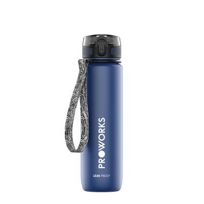 Proworks Dark Blue 500ml Sports Bottle
