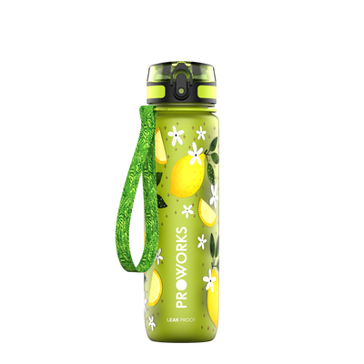 Proworks Green Lemon Blossom 500ml Sports Bottle