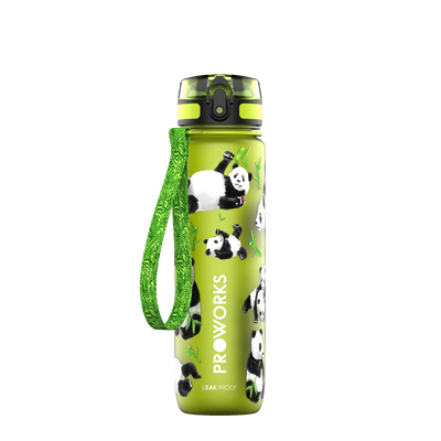 Proworks Green Panda 500ml Sports Bottle