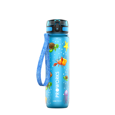 Proworks Light Blue Underwater 500ml Sports Bottle