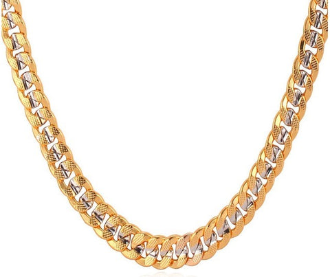 6mm Two-Tone Choker Chain