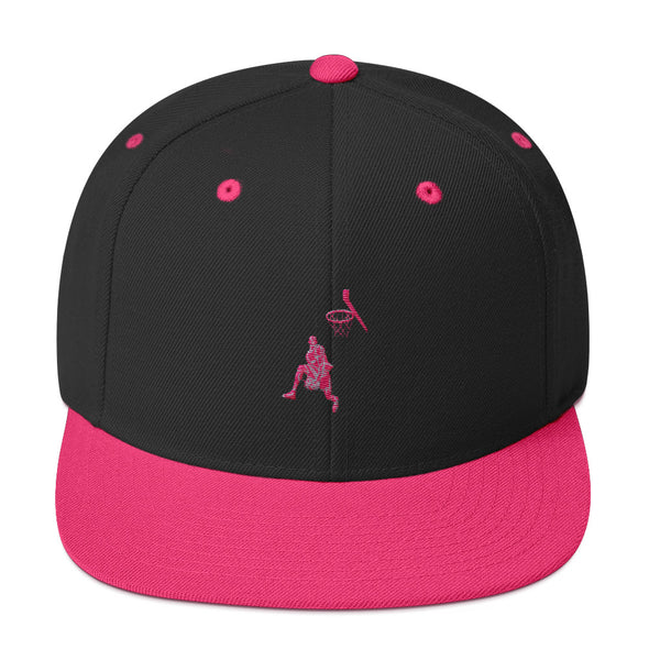 Basketball Dunker 1 Snapback Hat
