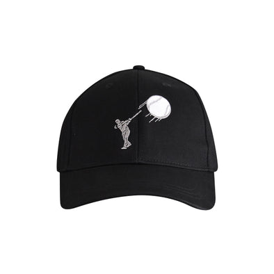 Baseball Hitter Hat Black