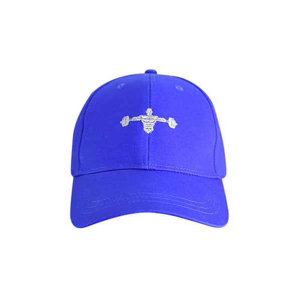 Weightlifter Baseball Hat Blue