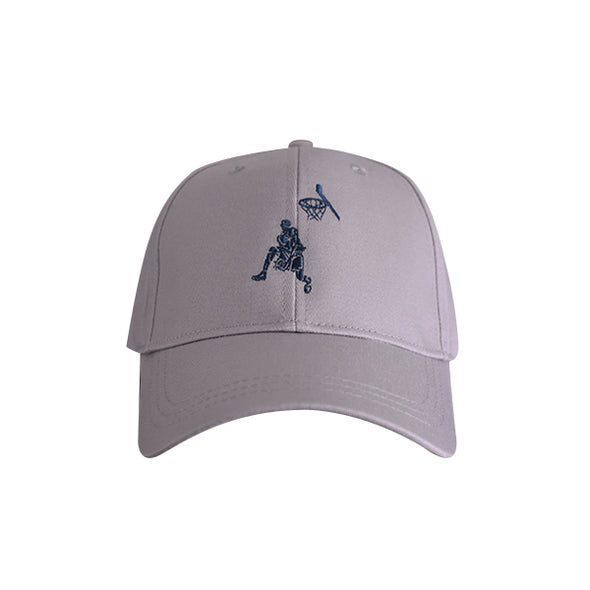 Basketball Dunker Hat Grey