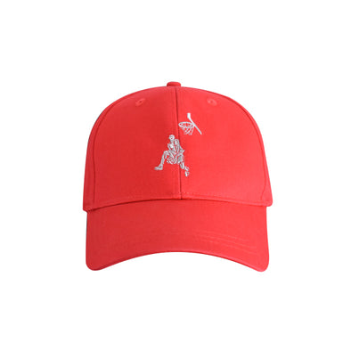 Basketball Dunker Hat Red