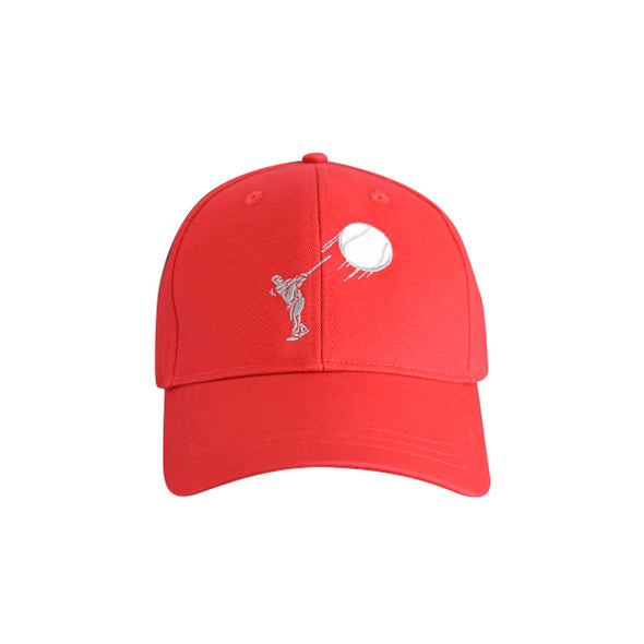 Baseball Hitter Hat Red