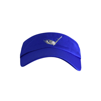 Golf Ball with Driver Logo Visor Blue