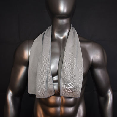 Grey Sports Towel