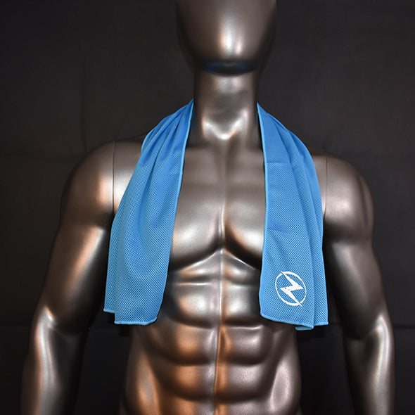 Light Blue Sports Towel