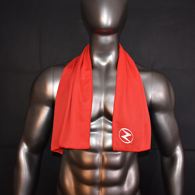 Red Sports Towel