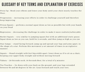 The Bodyweight Booklet - A Guide to Self Improvement PDF Document - Fitness
