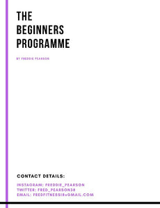 The Beginners Programme
