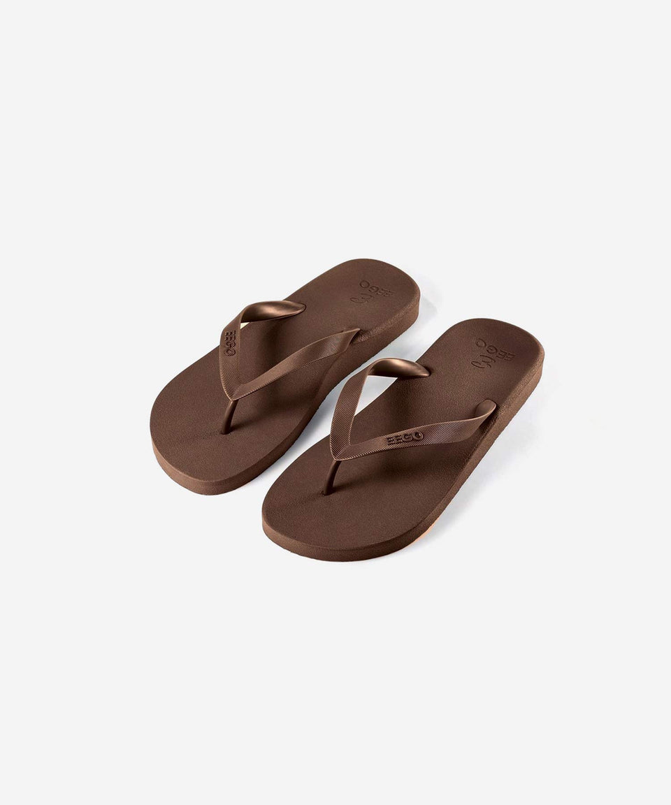 EEGO Men's Flip Flop, in Brown