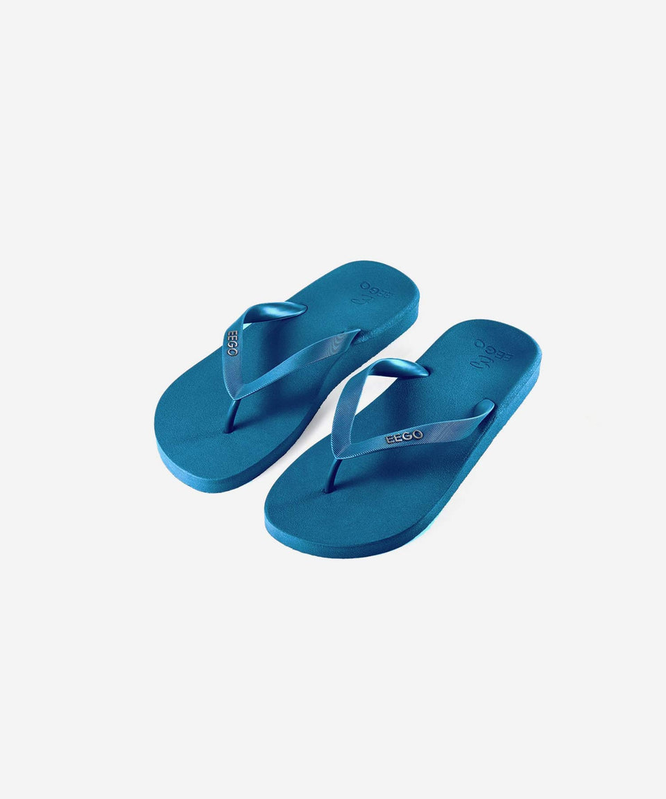 EEGO Men's Flip Flop, in Teal