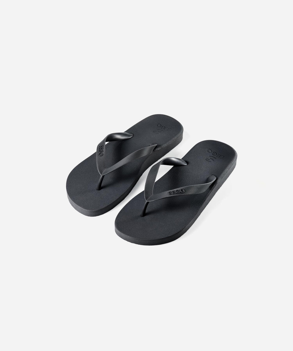 EEGO Men's Flip Flop, in Black