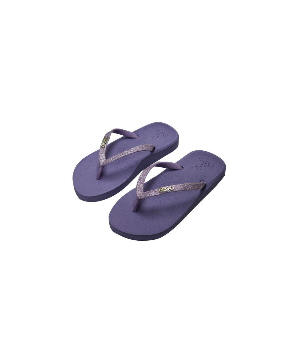 EEGO Kids Flip Flop, in Unicorn Purple