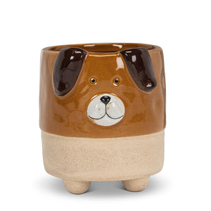 Large Dog Planter with Legs 3.5""