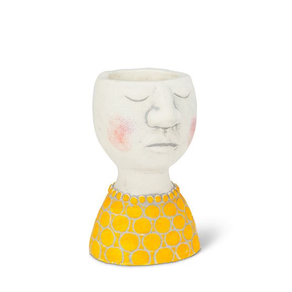 Kinfolk Girl Head Planter 2.5