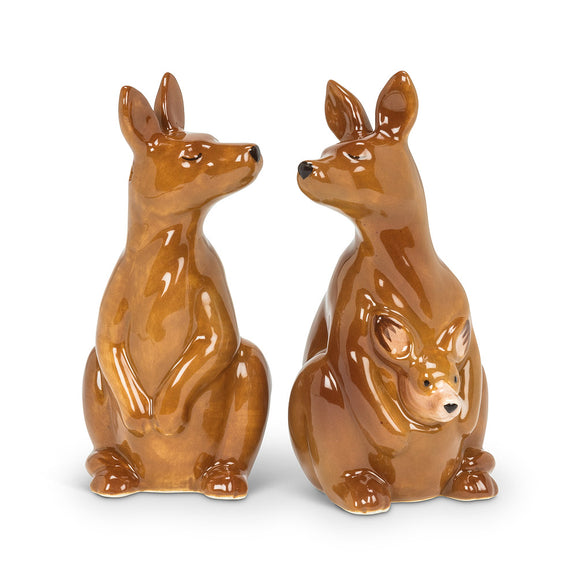 Salt & Pepper Kangaroo Couple