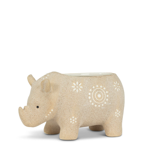 Rhino Safari Planter 6