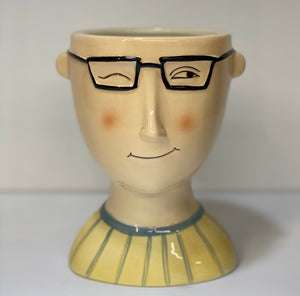 Boy Head with Glasses