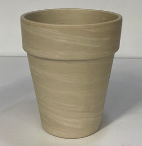 Pot Clay Granite Tall 4.7""