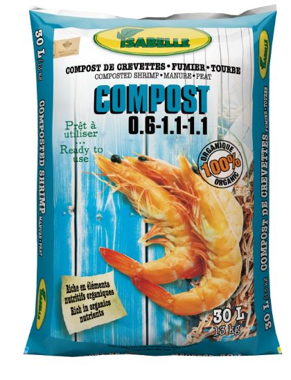 Shrimp Compost 30L
