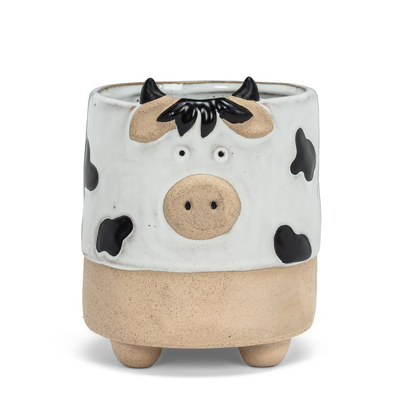 Small Cow Planter with Legs 2.5