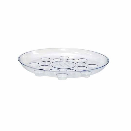 Saucer Plastic Carpet Saver 16