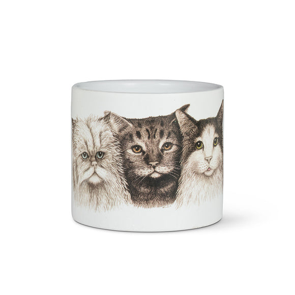 Cat Trio Planter 4.5