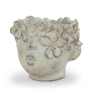 "8"" Kissing Face Planter (Medium)"