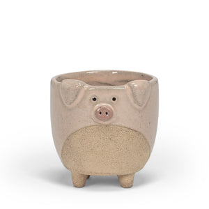 Small Pig Planter with Legs 2.5""