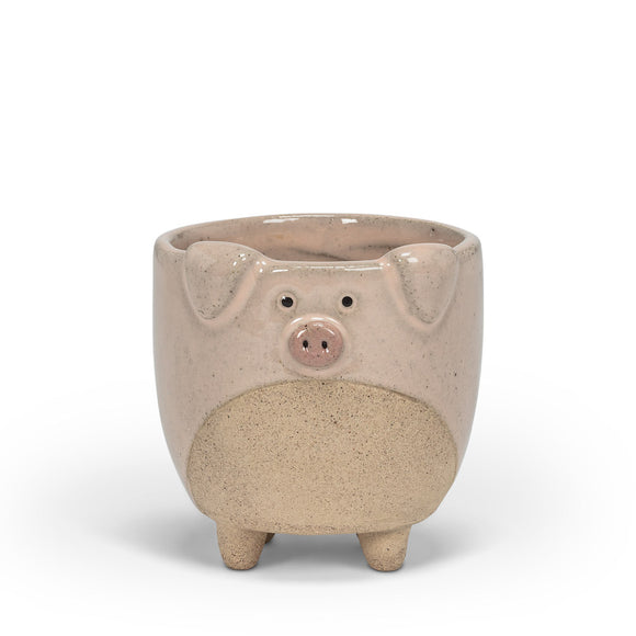 Small Pig Planter with Legs 2.5