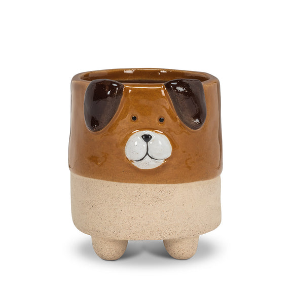 Small Dog Planter with Legs 2.5