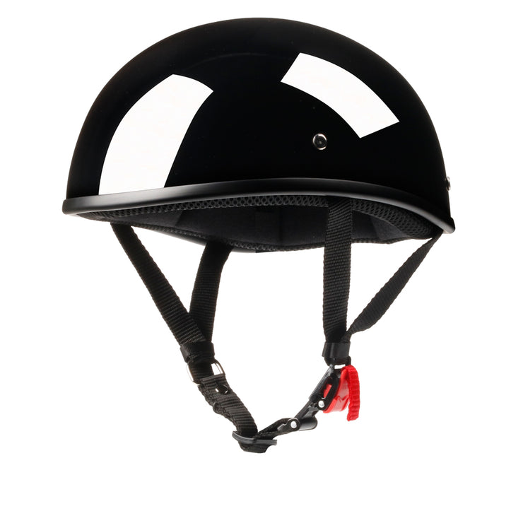 Beanie™ Helmet -  Low Profile Motorcycle Helmet (DOT Approved) (Sunnies)