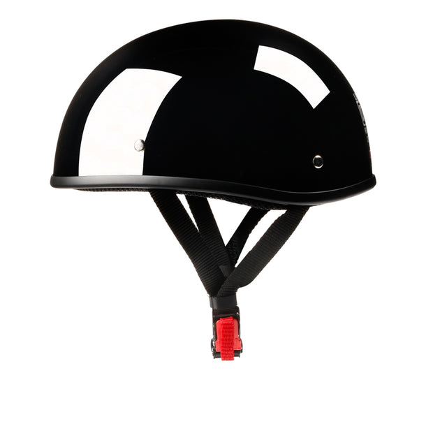 Beanie Helmet - Low Profile Motorcycle Helmet | Biker Lid CLICK ADD TO CART TO GET FREE SUNGLASSES DEAL (value $19.95)