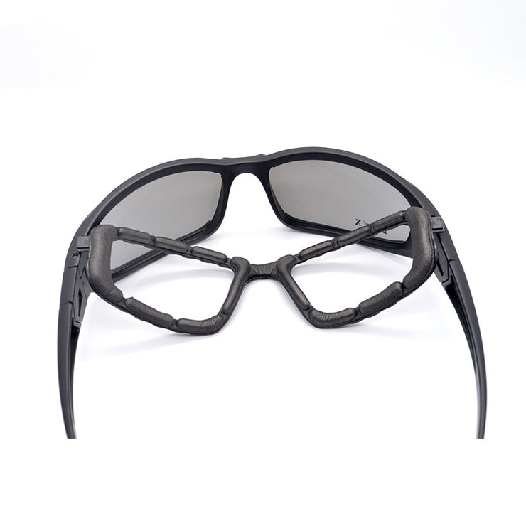 GlareGone™ Motorcycle Glasses with Interchangeable Lenses