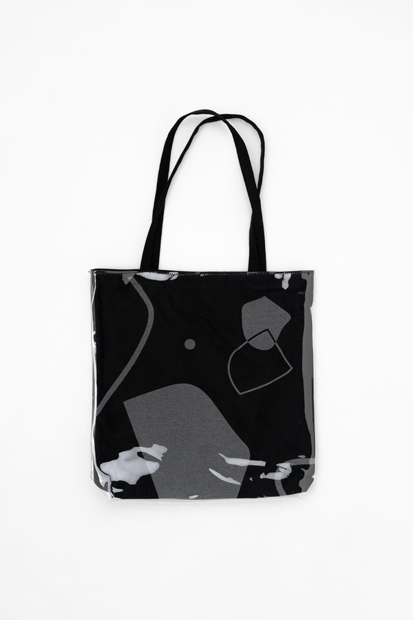 The Seventh Continent Black Tote with Recycled PVC