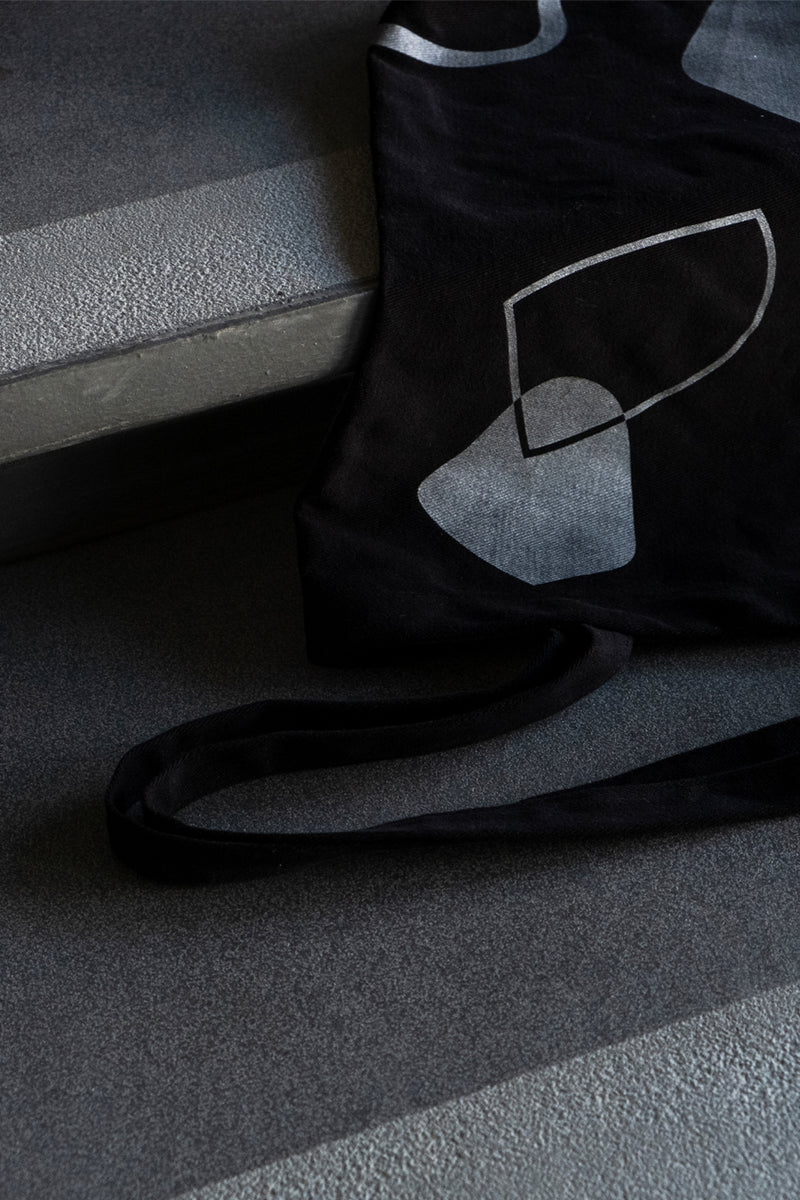The Seventh Continent Black Tote Bag